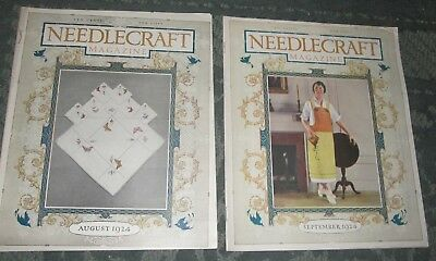 2 August 1924 And September 1924 Publications - Needlecraft