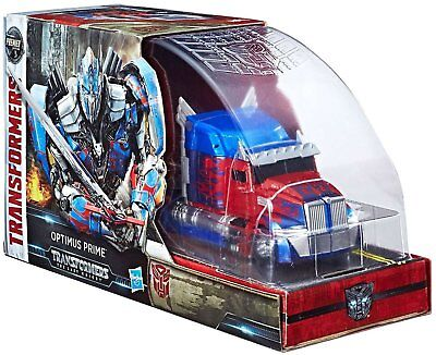 Transformers The Last Knight Voyager Optimus Prime & Tire Sdcc 2017 Exclusive