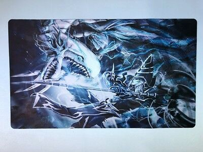 Custom Blue Eyes White Dragon vs Dark Magician Playmat - New Yu-Gi-Oh! Custom UK