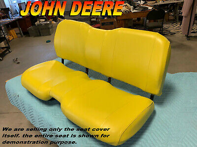 Excellent John Deere Gator Bench Seat Covers Xuv 855D In Solid Yellow Machost Co Dining Chair Design Ideas Machostcouk