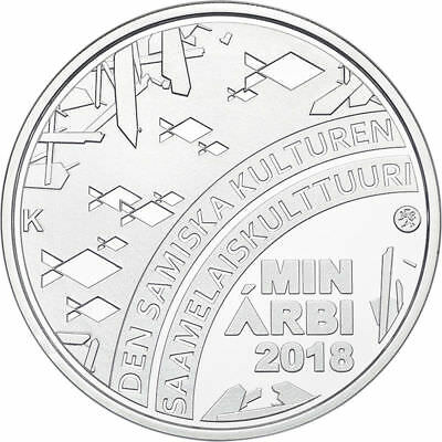 2018 Finland 20 Euro Silver Proof Coin Sami People Culture Nature Sapmi Lappland