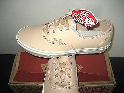 88feba84f4 Vans Womens Authentic DX Veggie Tan Leather Lace up Skate Boat shoes Size 7  NWT