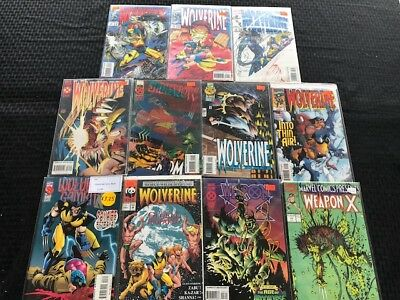 WOLVERINE Lot of 11 Comics