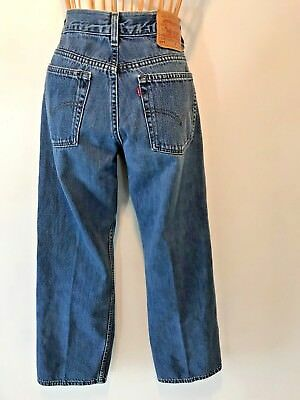 Vintage Levis 577 Jeans Lower Rise Loose Fit Women size 10 30x30 made in USA P12