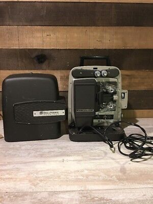Bell & Howell Auto Load Super Eight 346A Movie Projector 8mm Works No Light Bulb