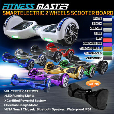 Smart Self Balancing Hoverboard Electric 2 Wheel Scooter Hover Board *Free Case*