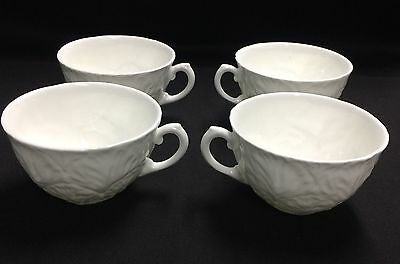 4 Vintage Cups COALPORT (matches Wedgwood) COUNTRYWARE Bone China ENGLAND