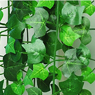 8.2feet Green Artificial Ivy Leave Garland Plants Vine Foliage Flowers Home