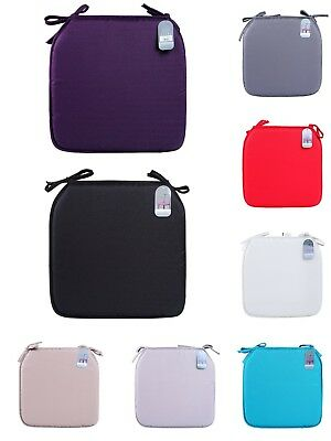 High Quality Foam Seat Cushions With Removable Tie For Home Office Chairs