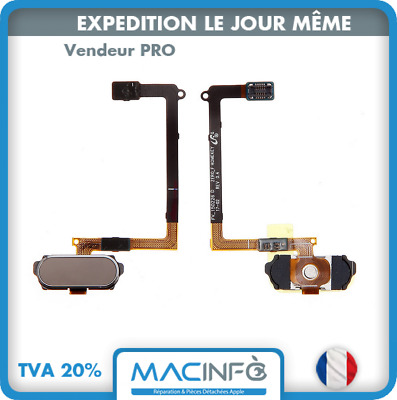 Câble nappe bouton home central accueil ZEROFHOMEKEY Or Samsung Galaxy S6 G920