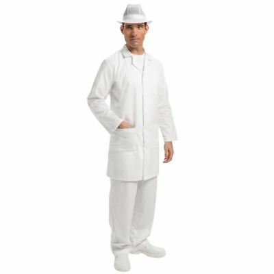 Whites Chefs Apparel Unisex White Coat Jacket Top Workwear Clothing Kitchen