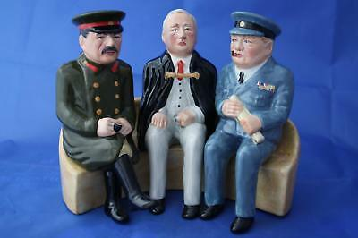 Bairstow Manor Collectables Rare Yalta Conference 1945 Winston Churchill Figure