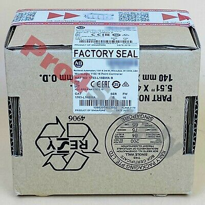2017/2018 US Stock Allen-Bradley MicroLogix 1100 16Point Controller 1763-L16BWA
