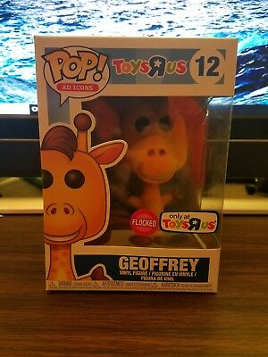 Funko POP Ad Icons Geoffrey FLOCKED | In-Hand | Toys R Us Exclusive VERY RARE