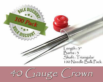 40 Gauge crown felting needles - Wholesale