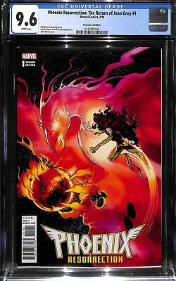 Phoenix Resurrection: The Return of Jean Grey #1 1:1000 CGC 9.6 Remastered Color
