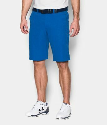 UNDER ARMOUR GOLF MEN'S MATCH PLAY VENTED SHORTS BLUE MARKER NEW  pick size