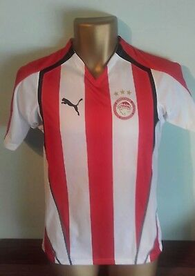 BNWT OLYMPIAKOS 2005/06 Home Football Shirt Puma
