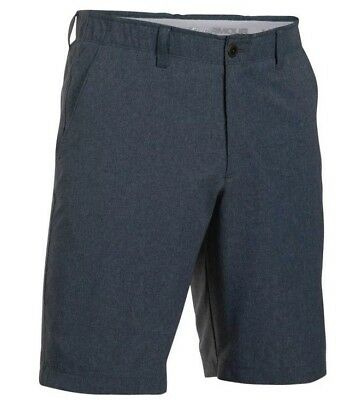 UNDER ARMOUR GOLF MEN'S MATCH PLAY VENTED SHORTS Stealth Gray NEW  pick size