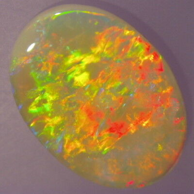 Australian Natural Solid Crystal Opal, 3.2 Ct