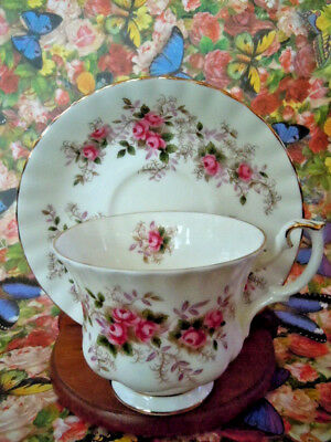 Royal Albert Bone China England - Lavender Rose - Coffee Tea Cup & Saucer
