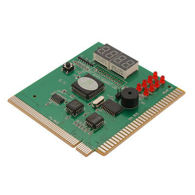 4-Digit Diagnostic Motherboard Tester Card PCI PC Analyzer Troubleshoot AC1196