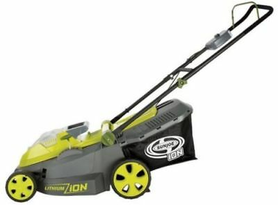 SunJoe iON16LM-CT Cordless Lawn Mower/16 inch/40V/Brushless Motor Core Tool Only
