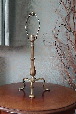 Antique Brass Pullman Railway Ship Table Lamp Art Nouveau W S Benson