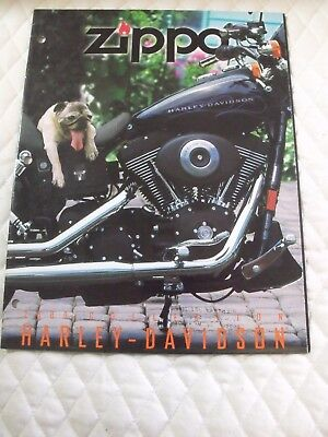 2000 Zippo Harley Davidson Catalog Slightly Used