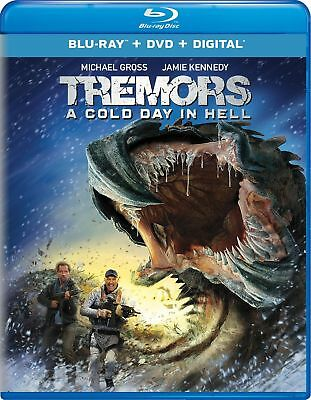TREMORS 6 - A COLD DAY IN HELL -  BLU RAY - Sealed Region free