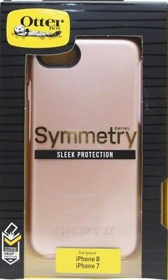 "OEM Original Genuine Otterbox Symmetry Series Case for iPhone 8/7 4.7"" Rose"