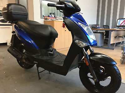 2016/16 Kymco Agility 125cc Scooter learner first bike cbt only 2,500 miles X2