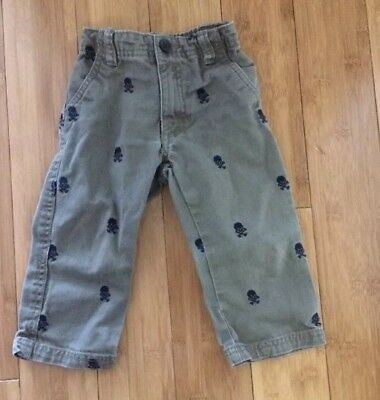 The Childrens Place Baby Boy Pants  With Skulls Size 18-24 Months