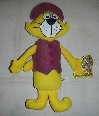 NWT Hanna Barbera Yogi Bear Top Cat Plush Stuffed Animal Toy