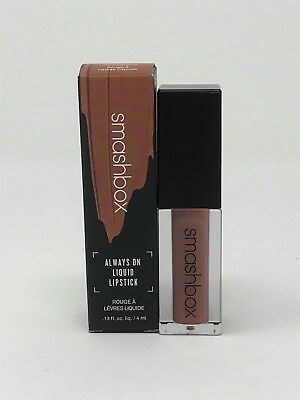 Smashbox Always On Liquid Lipstick in STEPPING OUT (New in Box)
