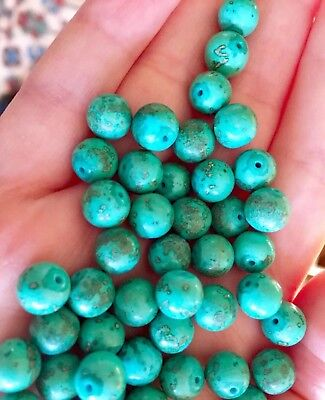 Rare Antique old Turquoise beads for Necklace bracelet or for collection