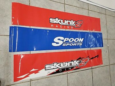 Spoon Sports Jdm Windshield Banner/visor Honda Acura