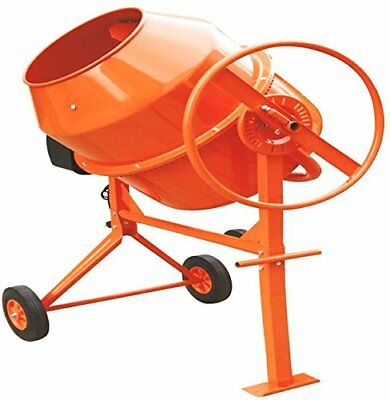 2018! 200L 800W Drum Portable Electric Concrete Cement Mixer Mortar Plaster