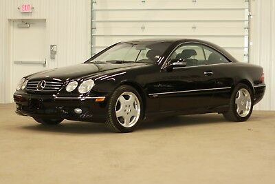 2001 Mercedes-Benz CL-Class CL600 CL600 V12*362HP*37K MILES*Black/Blk Leather*NEW $133K NEW* NOW JUST*$16995/OFFER