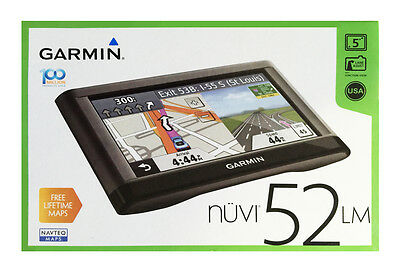 GARMIN NVI 52LM 5Inch Portable Vehicle GPS with Lifetime Maps US