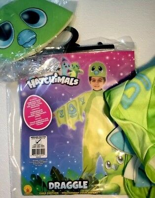 Rubies 640402 Hatchimals Just-Hatched Childs Costume Small Rubies Draggles Domestic