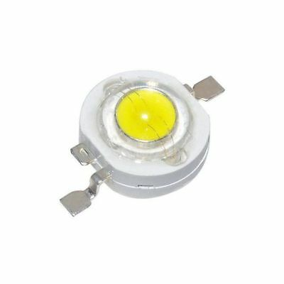 10 X 1W Watt High Power White SMD LED Diodes Lamp Beads Bulb Chip - USA
