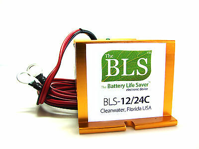 BLS-12/24C EX AUSTRALIA Battery Life Saver Reviver 12 and 24 v battery systems