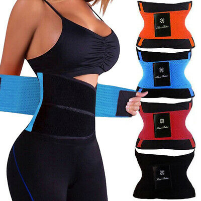 Extreme Thermal Body Shaper Hot Power Waist Trainer Cincher Power Belt Shapewear
