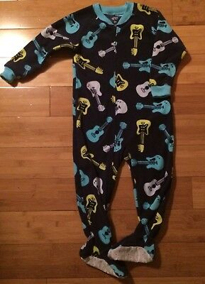 46aa5fe581fd CARTERS TODDLER BOY Lot Of 2 One Piece Footed Fleece Pajamas Size 2T ...