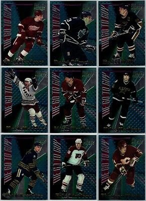 1994-95 Topps Premier The Go To Guy Insert Cards - Pick Your Singles -Finish Set