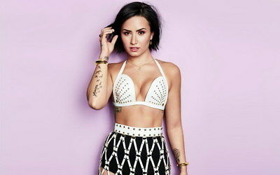 "006 Demi Lovato - USA Singer Actress 22""x14"" Poster"
