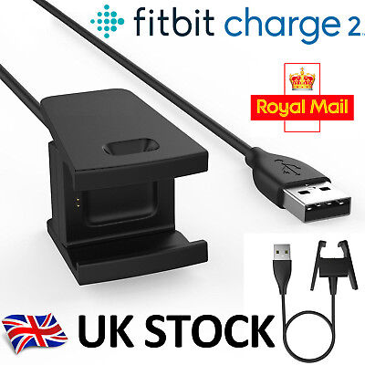 USB Charging Cable Charger Lead for Fitbit CHARGE 2 Fitness Tracker Wristband Ma