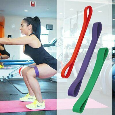 Resistance Exercise Loop Bands Fitness Natural Latex Yoga Pilates Stretch Gym
