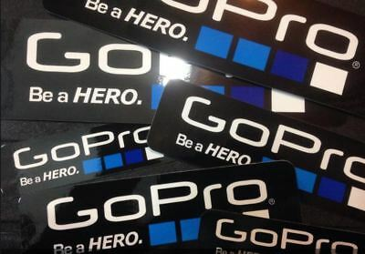 OUT-DOOR Waterproof Logo Stickers Decal For GoPro 4 3+ 5 6 3 Sports Camera 1PCS